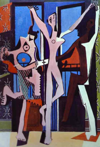 Picasso, The Three Dancers