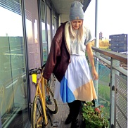 brickmum, jacket and skirt
