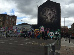 Borondo and street art jam live