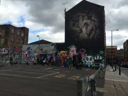 Borondo and street art jam live